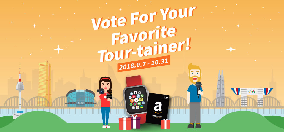 Vote For Your Favorite Tour-tainer